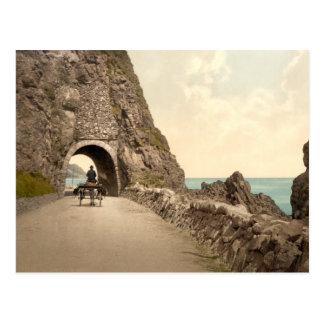 Black Cave Tunnel, Co Antrim Postcard