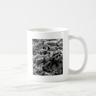 black cells or bacteria coffee mug