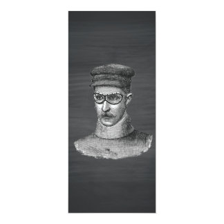 Black Chalkboard Steampunk Goggles Man Card