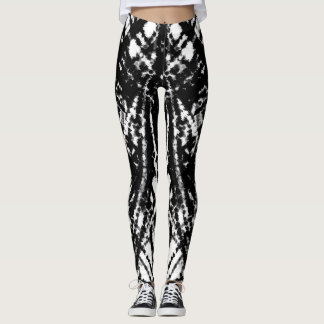 Black Chaos Leggings
