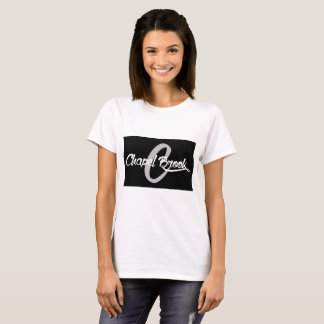 black/chapel brook womens white tshirt