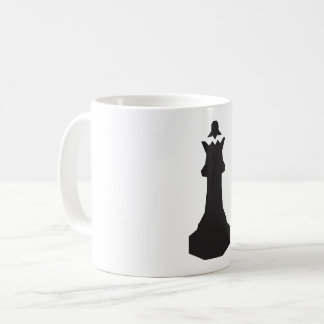 Black Chess Piece Mug