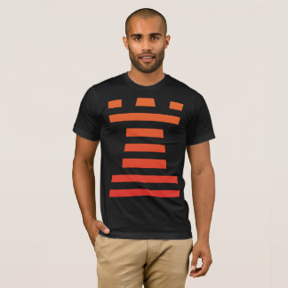 Black ChessME Tee Shirts With Orange Rook