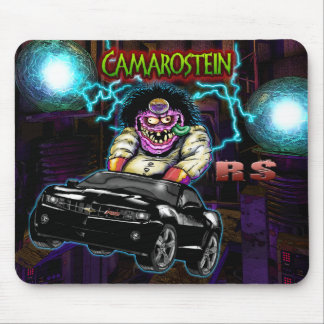 Black Chevy Camaro RS Mousepad