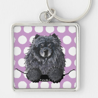 Black Chow Key Chain