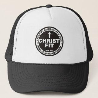 Black Christ Fit cap