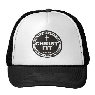 Black Christ Fit cap Trucker Hat