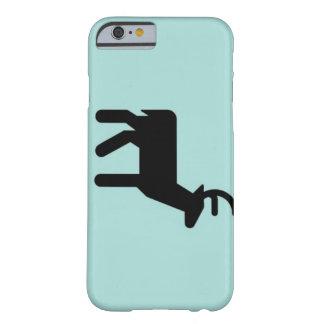 Black Christmas deer, sky color iPhone 6/6s case
