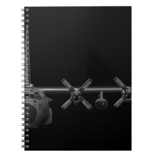 Black Chrome Herk - Notebook