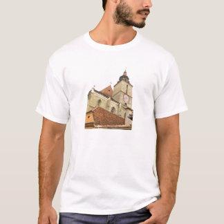 Black church in Brasov, Romania T-Shirt