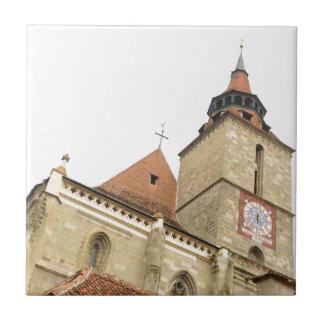 Black church in Brasov, Romania Tiles