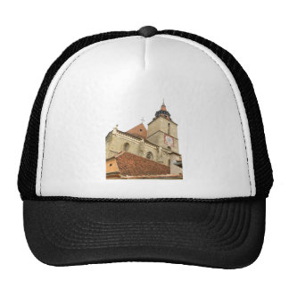 Black church in Brasov, Romania Trucker Hat