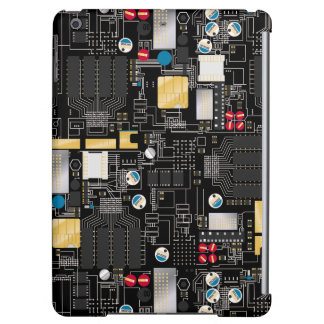 Black circuit board cover for iPad air