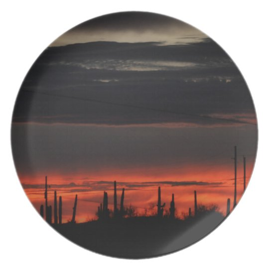 Black Clouds in Orion Melamine Plate