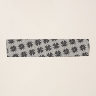 Black Clover Ribbon by Kenneth Yoncich Scarf