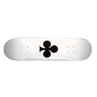 Black Club Skateboard Deck