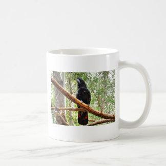BLACK COCKATOO QUEENSLAND AUSTRALIA COFFEE MUG