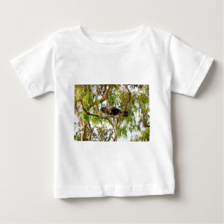 BLACK COCKATOO RURAL QUEENSLAND AUSTRALIA BABY T-Shirt