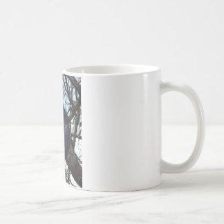 BLACK COCKATOO RURAL QUEENSLAND AUSTRALIA COFFEE MUG