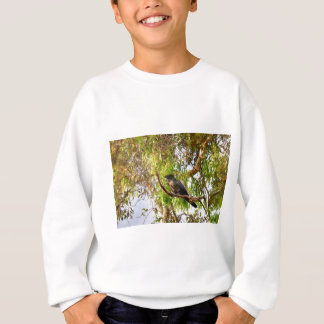 BLACK COCKATOO RURAL QUEENSLAND AUSTRALIA SWEATSHIRT