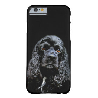 Black cocker spaniel face barely there iPhone 6 case
