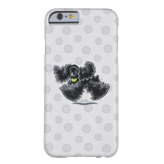 Black Cocker Spaniel Play Barely There iPhone 6 Case