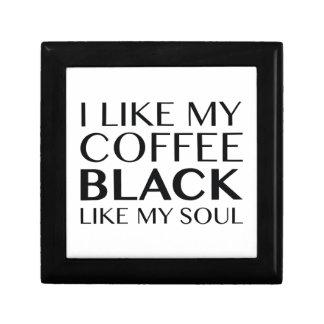 Black Coffee Gift Box