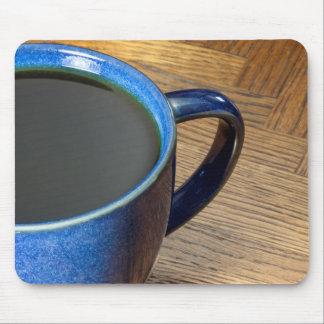 Black Coffee Mouse Pads