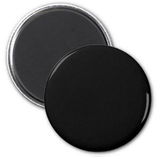 Black Color Round Fridge Magnets