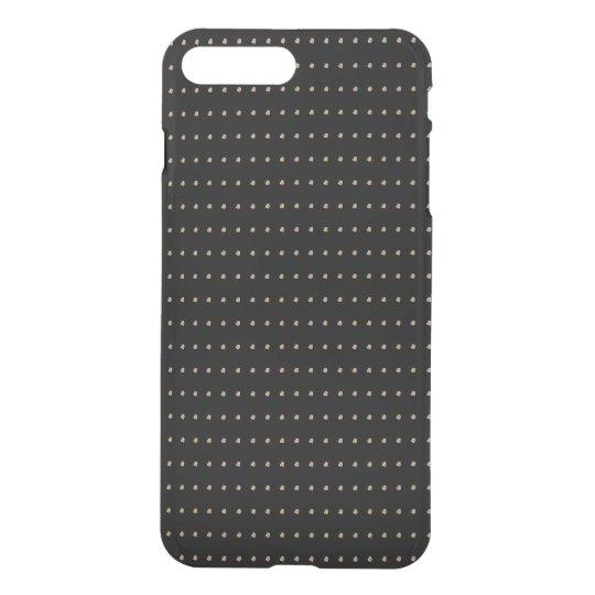 Black Cool Modern Polka Dots iPhone 7 Plus Case
