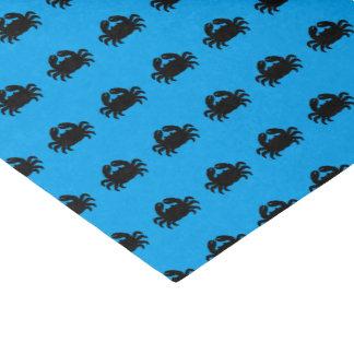 Black Crab Silhouette Tissue Paper