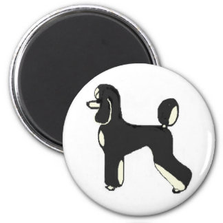 Black & Cream Phantom Magnet
