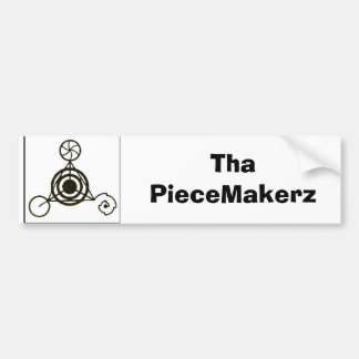 black crop, 1180384133_l, Tha PieceMakerz Bumper Sticker