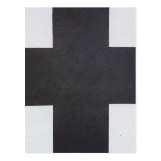 Black Cross by Kazimir Malevich Postcard