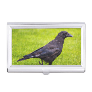 Black crow business card cases