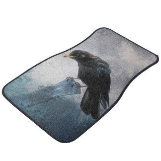 Black Crow Car Mat