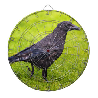 Black crow dartboard