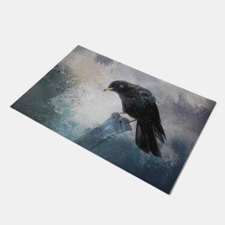 Black Crow Doormat