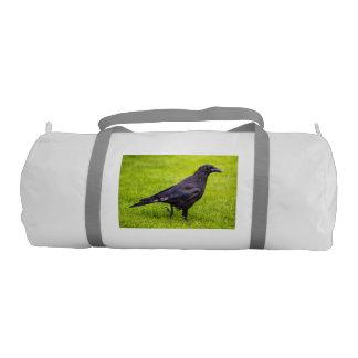 Black crow gym bag
