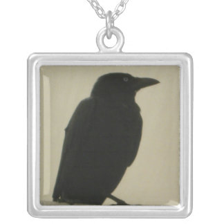 Black Crow Necklace