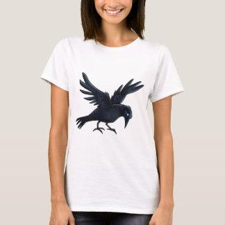 Black Crow Painting - T-shirt