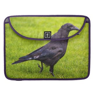 Black crow sleeve for MacBooks
