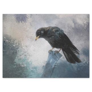 Black Crow Tissue Paper