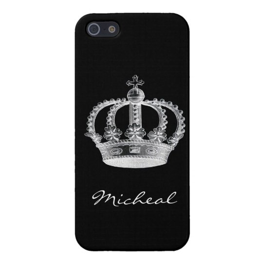 Black Crown iPhone 5/5S Cases