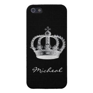 Black Crown iPhone 5 Case