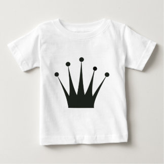 Black Crown Silhouette Baby T-Shirt