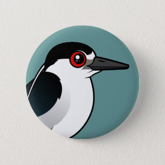 Black-crowned Night Heron 2 Inch Round Button