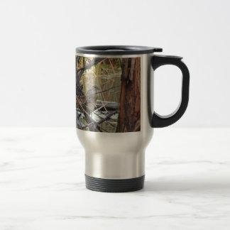 Black Crowned Night Heron Juvenile Travel Mug