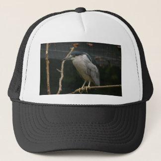 Black-crowned Night Heron Trucker Hat