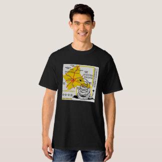 Black Culpeper T-Shirt / LiGHTSHiRTZ